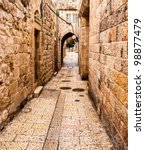Ancient Alley In Jewish Quarte...