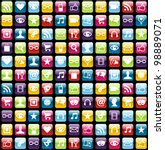 smartphone app icon set...