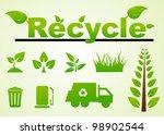 vector set of environmental  ...   Shutterstock .eps vector #98902544