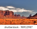 Peaks Of Rock Formations In The ...