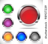 vector buttons | Shutterstock .eps vector #98937239