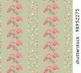floral background with... | Shutterstock .eps vector #98952275