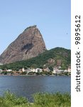 sugarloaf mountain and cable... | Shutterstock . vector #9895612