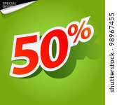 label for special offers and... | Shutterstock .eps vector #98967455