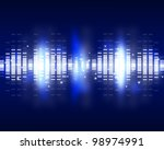 sound waves set. music... | Shutterstock . vector #98974991