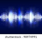 sound waves set. music... | Shutterstock . vector #98974991