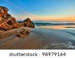 Sunset In Laguna Beach  Orange...