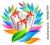 gifts | Shutterstock .eps vector #98980799