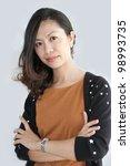 beautiful asian young...   Shutterstock . vector #98993735