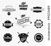 vintage styled premium quality... | Shutterstock .eps vector #99023489