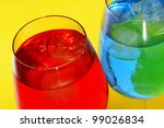 some glasses with cocktails of... | Shutterstock . vector #99026834