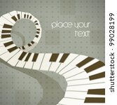 Vector Abstract Music Piano...