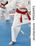 Karate - stock photo