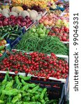 Fresh Vegetables At Farmer...