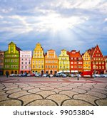 city centre  solny square... | Shutterstock . vector #99053804