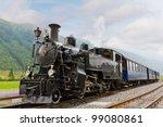 Vintage Black Steam Powered...