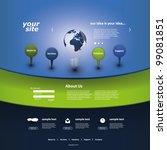 website template   Shutterstock .eps vector #99081851