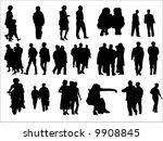 silhouette | Shutterstock .eps vector #9908845
