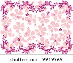 abstract floral ornament.... | Shutterstock .eps vector #9919969