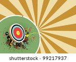 archer background with space ... | Shutterstock . vector #99217937