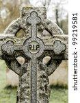 stone rest in peace in a... | Shutterstock . vector #99219581