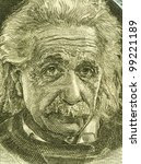 Постер, плакат: Albert Einstein 1879 1955 on