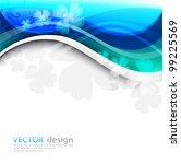 abstract background vector | Shutterstock .eps vector #99225569