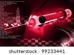 digital illustration   of... | Shutterstock . vector #99233441