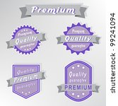 premium quality purple stamps... | Shutterstock .eps vector #99241094