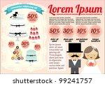 wedding cake template  info...   Shutterstock .eps vector #99241757