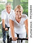 happy senior people exercising... | Shutterstock . vector #99256844