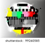 color test for television ... | Shutterstock .eps vector #99260585