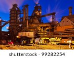 blast furnace equipment of the... | Shutterstock . vector #99282254