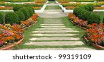 nature path through in the... | Shutterstock . vector #99319109