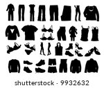 clothes vector | Shutterstock .eps vector #9932632