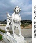 Sphinx In Belvedere Garden In...