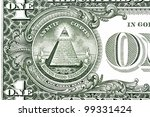 dollar pyramid on white... | Shutterstock . vector #99331424