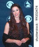 Small photo of 24FEB99: Singer ALANIS MORISSETTE at the 41st Annual Grammy Awards in Los Angeles. Paul Smith / Featureflash