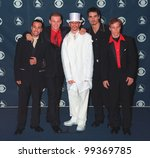 Постер, плакат: BACKSTREET BOYS at the