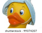 Rubber Ducky  Face Closeup...