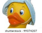 Rubber Ducky  Face Closeup...