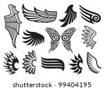 wings collection | Shutterstock . vector #99404195