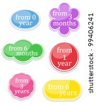 set of labels | Shutterstock .eps vector #99406241