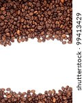 brown roasted coffee beans... | Shutterstock . vector #99413429