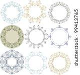 vector vintage labels set   Shutterstock .eps vector #99413765