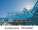 new home under construction... | Shutterstock . vector #99418487