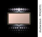 cinema sign vector   Shutterstock .eps vector #99426551