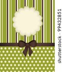 green polka dot and striped... | Shutterstock .eps vector #99432851