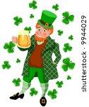 st patrick's day mug | Shutterstock .eps vector #9944029