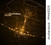 abstract technology  vector...   Shutterstock .eps vector #99443525